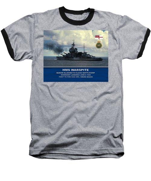 Hms Warspite Baseball T-Shirt