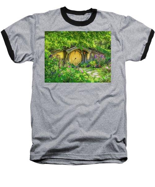 Hobbit Cottage Baseball T-Shirt