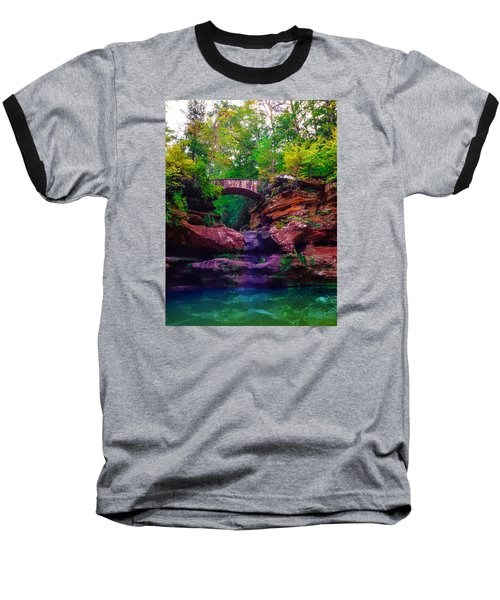 Baseball T-Shirt featuring the photograph Hocking Hills State Park 6 by Brian Stevens