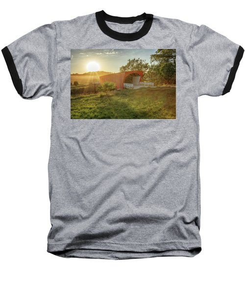 Hogback Covered Bridge 2 Baseball T-Shirt
