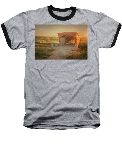 Hogback Covered Bridge Baseball T-Shirt