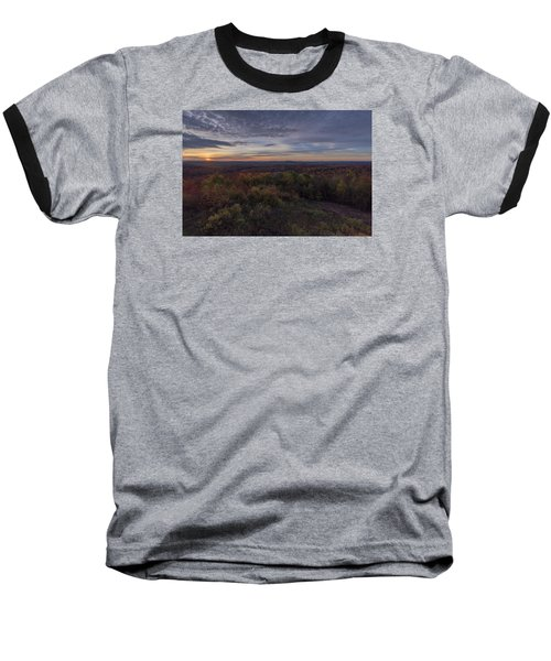 Hogback Morning Baseball T-Shirt by Tom Singleton