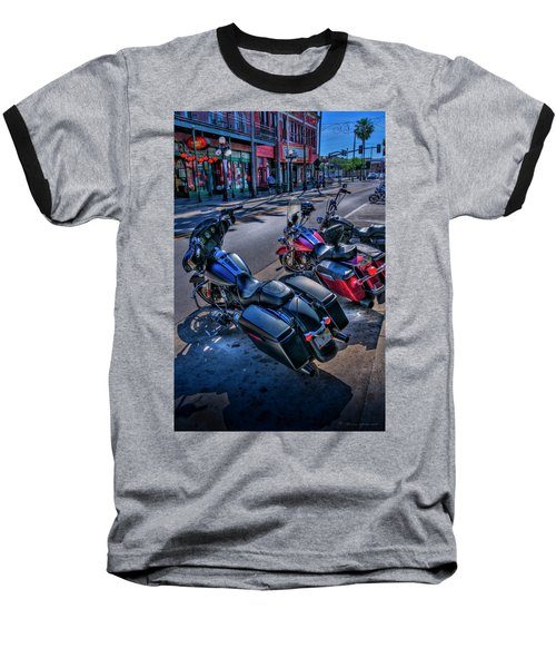 Hogs On 7th Ave Baseball T-Shirt