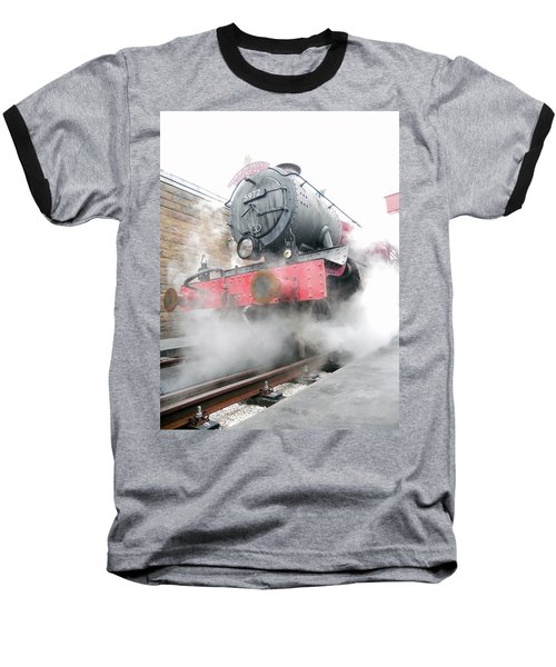 Baseball T-Shirt featuring the photograph Hogwarts Express Train by Juergen Weiss