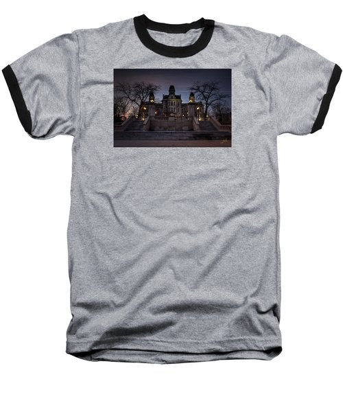 Hogwarts - Hall Of Languages Baseball T-Shirt