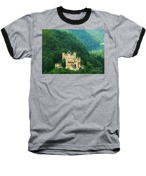 Hohenschwangau Castle 1 Baseball T-Shirt by Rudi Prott