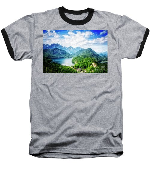 Hohenschwangau Baseball T-Shirt