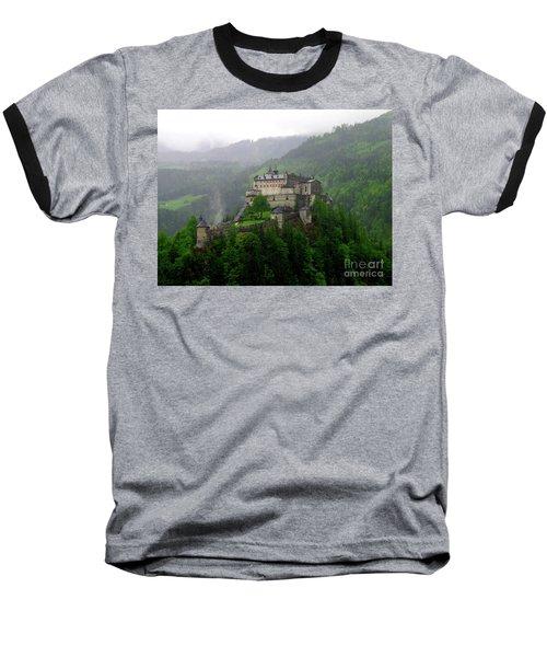 Hohenwerfen Castle Baseball T-Shirt by Sheila Ping