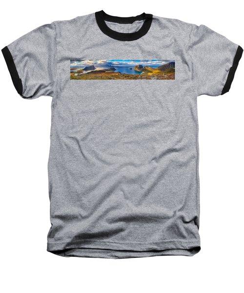 Holandsmelen Panorama Baseball T-Shirt