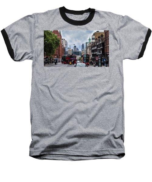 Holborn - London Baseball T-Shirt