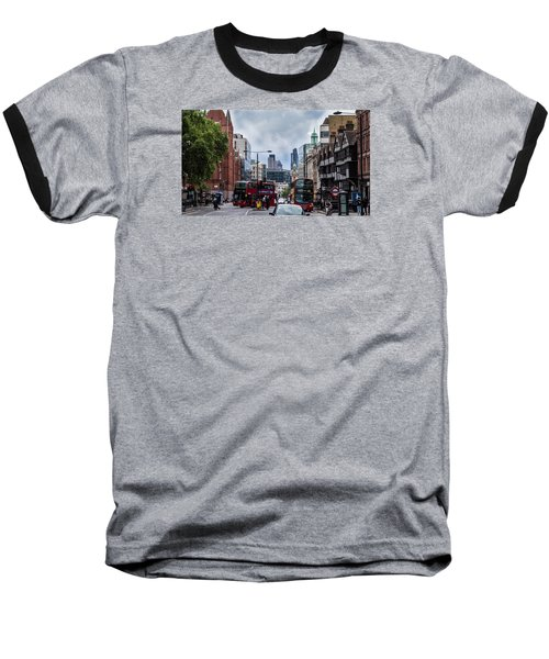Holborn - London Baseball T-Shirt