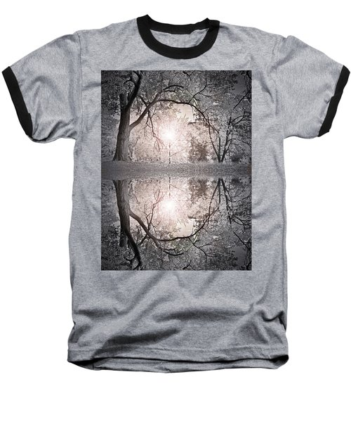 Baseball T-Shirt featuring the photograph Hold Me In This Pale Light by Tara Turner