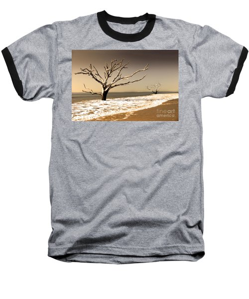 Baseball T-Shirt featuring the photograph Hold The Line by Dana DiPasquale