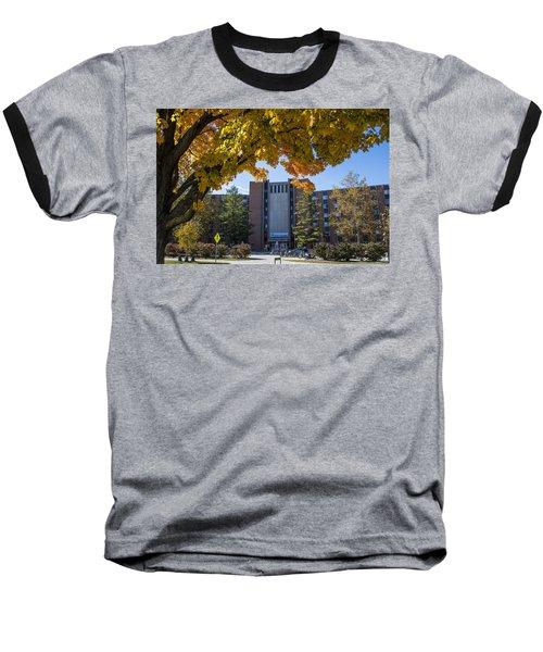 Holden Hall Cropped  Baseball T-Shirt