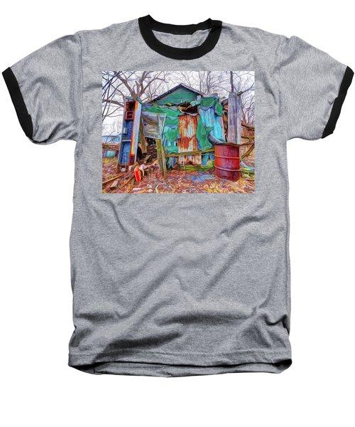Holding On To Reality Baseball T-Shirt