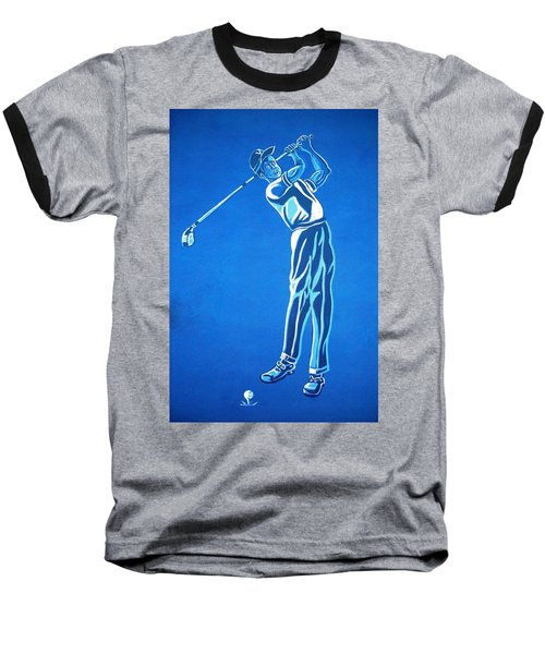 Baseball T-Shirt featuring the photograph Hole In One ... by Juergen Weiss