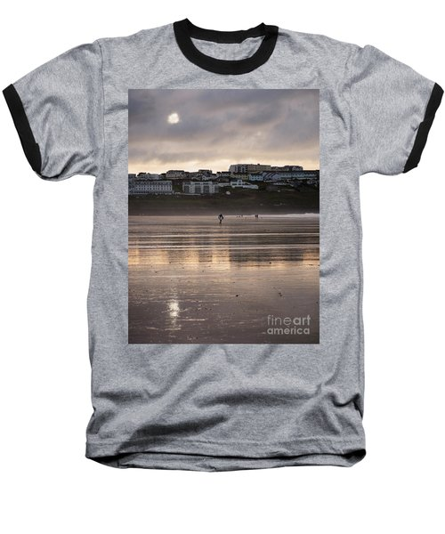 Baseball T-Shirt featuring the photograph Hole In The Clouds by Nicholas Burningham