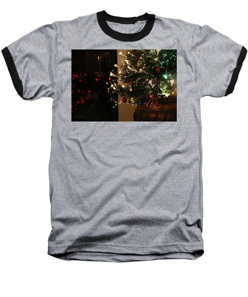 Holiday Attire Baseball T-Shirt by Yvonne Wright