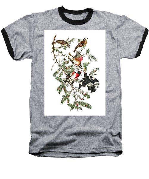 Baseball T-Shirt featuring the photograph Holiday Birds by Munir Alawi