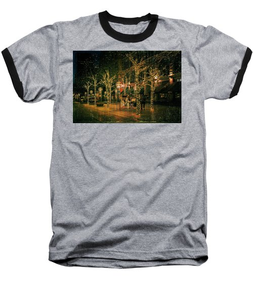 Baseball T-Shirt featuring the photograph Holiday Handsome Cab by Kristal Kraft