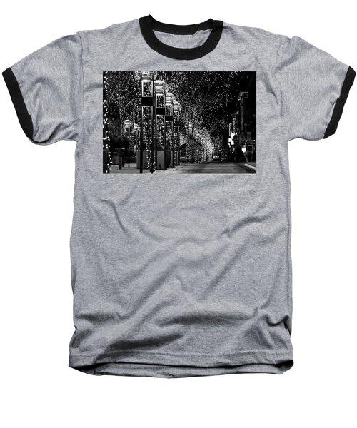 Holiday Lights - 16th Street Mall Baseball T-Shirt