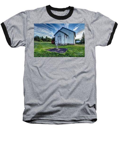 Holleford Schoolhouse Baseball T-Shirt