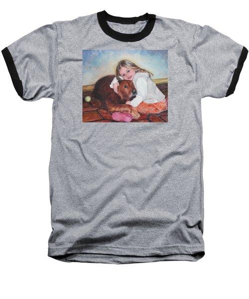 Hollis And Hannah - Cropped Version Baseball T-Shirt