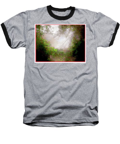 Baseball T-Shirt featuring the photograph Holly Heart by Bonnie Willis