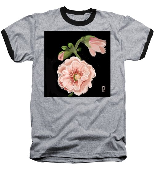 Hollyhock Baseball T-Shirt