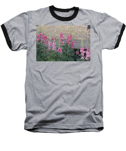Hollyhocks Baseball T-Shirt