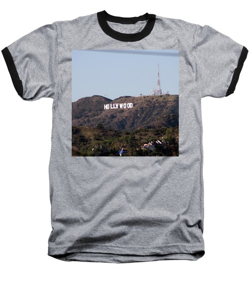 Hollywood And Helicopters Baseball T-Shirt