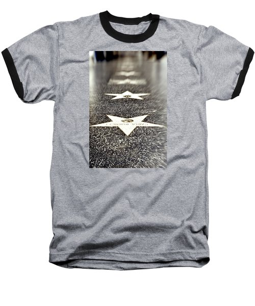 Hollywood Blvd California 19 Baseball T-Shirt