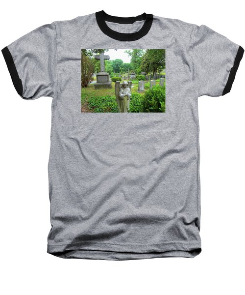 Hollywood Cemetery Baseball T-Shirt