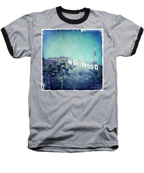 Hollywood Sign Baseball T-Shirt