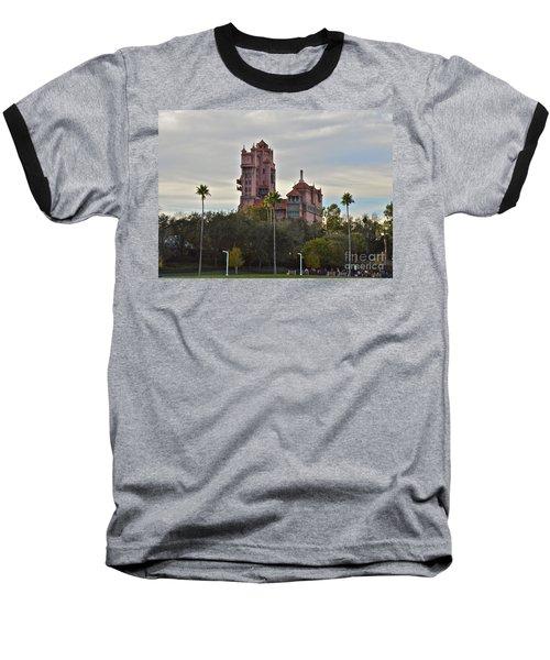 Hollywood Studios Tower Of Terror Baseball T-Shirt