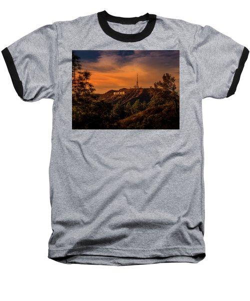 Hollywood Sunset Baseball T-Shirt