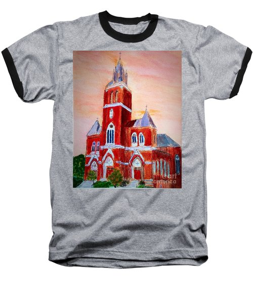 Holy Family Church Baseball T-Shirt