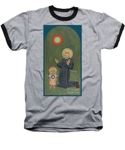 Holy Father Pedro Arrupe, Sj In Hiroshima With The Christ Child 293 Baseball T-Shirt