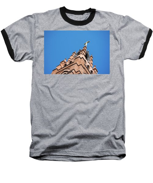 Huguenot Church Baseball T-Shirt