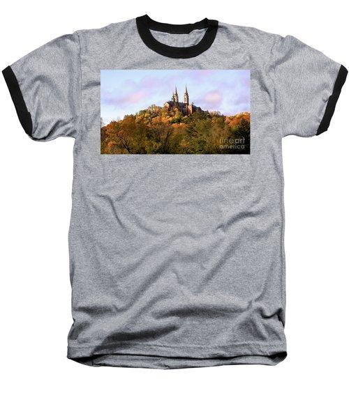 Holy Hill Basilica, National Shrine Of Mary Baseball T-Shirt
