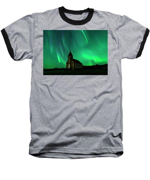 Holy Places Baseball T-Shirt