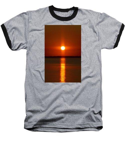 Holy Sunset - Portrait Baseball T-Shirt
