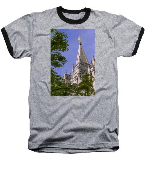 Holy Temple Baseball T-Shirt