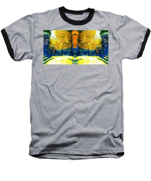 Homage To Sir Alfred Baseball T-Shirt