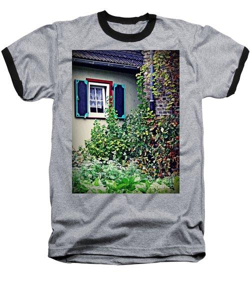 Home And Garden Schierstein 8   Baseball T-Shirt by Sarah Loft