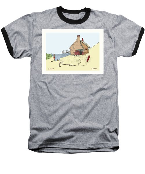 Home By The Sea Baseball T-Shirt