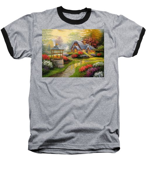 Home Is Where You Find Real Love Baseball T-Shirt