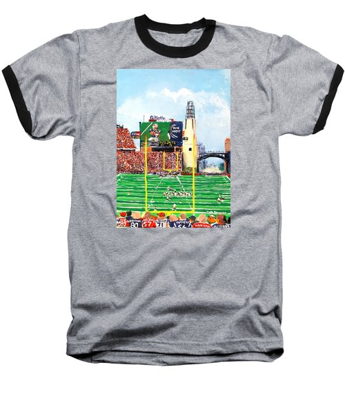 Home Of The Pats Baseball T-Shirt by Jack Skinner