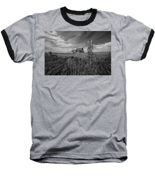 Baseball T-Shirt featuring the photograph Home On The Range  by Aaron J Groen