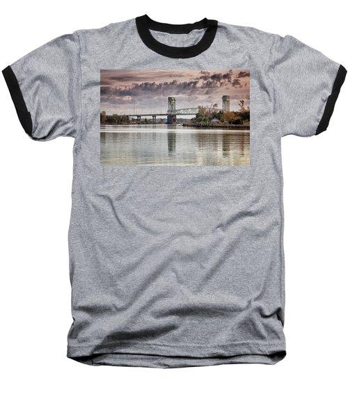 Cape Fear Crossing Baseball T-Shirt by Phil Mancuso